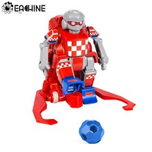 Eachine ER10 Smart RC Robot Cartoon Play Soccer Robot Remote Control Toys Electric Football Robot Indoor Toys for Children Gifts(China)