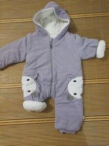 Image 5 - 2020 新ロシアの衣装ロンパース服コールド冬の少年少女衣服厚く快適な純粋な綿のコートのジャケットの子供