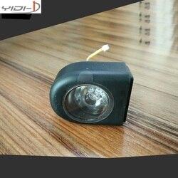 XIAOMI MIJIA M365 skate original LED de aviso da lâmpada do farol traseiro Não originais interruptor de exibição tampa de proteção de tela parte