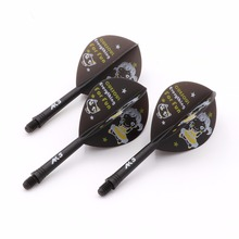 CUESOUL Rost Integrated Dart Shaft and Flights Pear-Teardrop Shape,Set of 3 pcs
