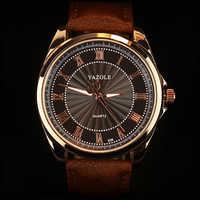 Nuevo Reloj de pulsera de lujo yazol para Hombre, estuche de oro rosa, Reloj para Hombre, envío directo, Hodinky