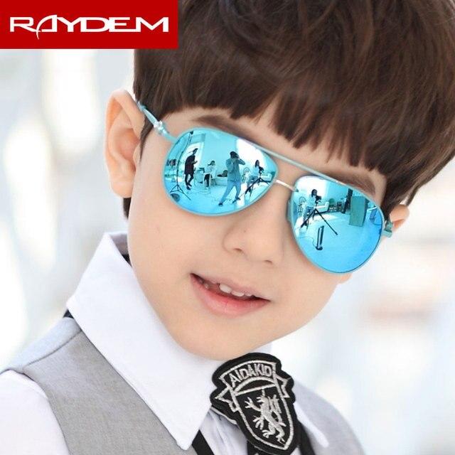 2018 New Children Fashion Sunglasses Polarized Healthy Colorful Child Girls Boys Sun Glasses Pilot Polar Fancy Eyeglasses