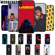 WEBBEDEPP the Weeknd Soft Case for iPhone 5 5S 6 6S 7 8 Plus X XS 11 Pro MAX XR Cover