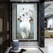 Buy white flower oil chinese and get free shipping on aliexpress free shipping chinese vase printed white flower oil painting home wall art pictures hd posters and mightylinksfo
