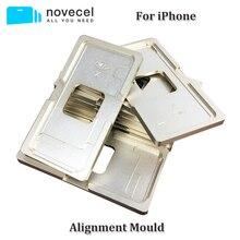 1 шт. прецизионная алюминиевая форма для выравнивания iPhone X 5G 5S 5C 6G 6s 6plus 6s Plus 7G 8G 7 Plus 8 plus