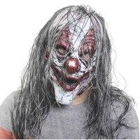 Маска Из Латекса для Хэллоуина, страшная маска из латекса для маскарада, костюм для Хэллоуина, реалистичный Декор