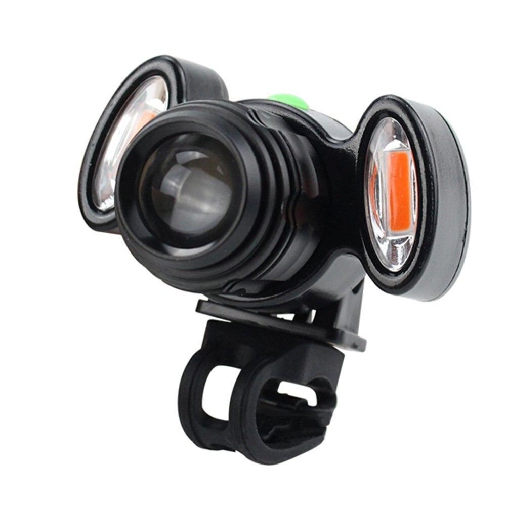 Super Bright USB Rechargeable 15000LM XML T6 LED Bike Bicycle Light Headlight Cycle Lamp Flashlight Bike Accessories outdoor super bright rechargeable hunting flashlight cree xml l2 60w led portable spotlight with hight middle flash model