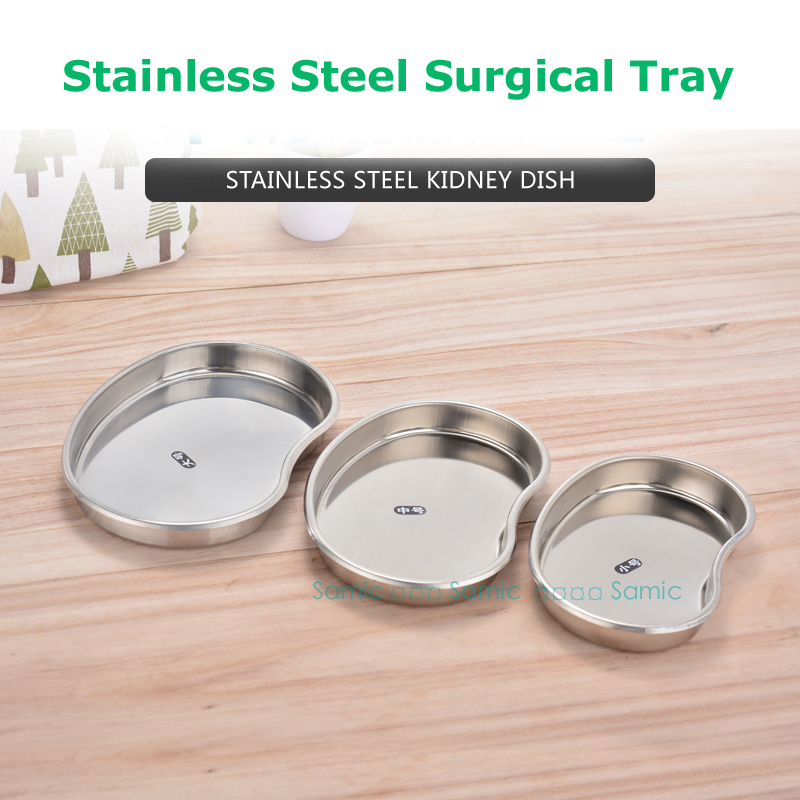 Beauty & Health The Cheapest Price 3pcs/pack Stainless Steel Surgical Medical Dental Instruments Bending Tray Disinfection Plate For Tattoo Sterilization Fast Color