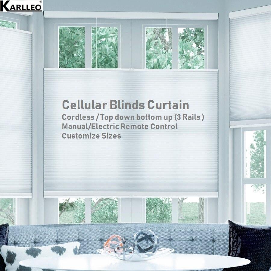 Blackout Cellular Honeycomb Blinds Shades Curtain