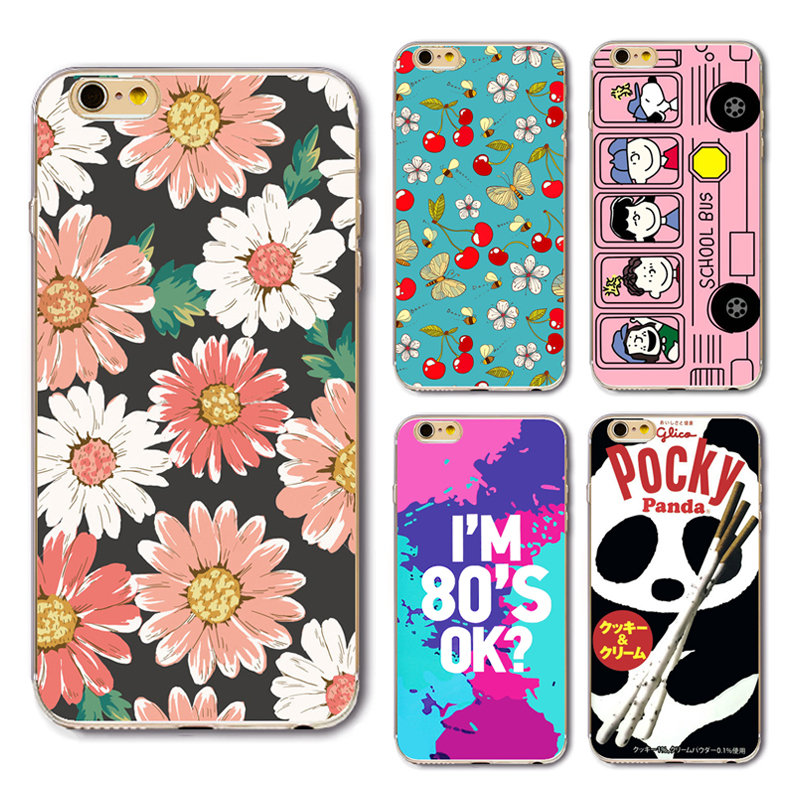 3D Painting Cell Phone Protective Cover For IPhone 6 6plus 6s 7 7s 7Plus Case 3D