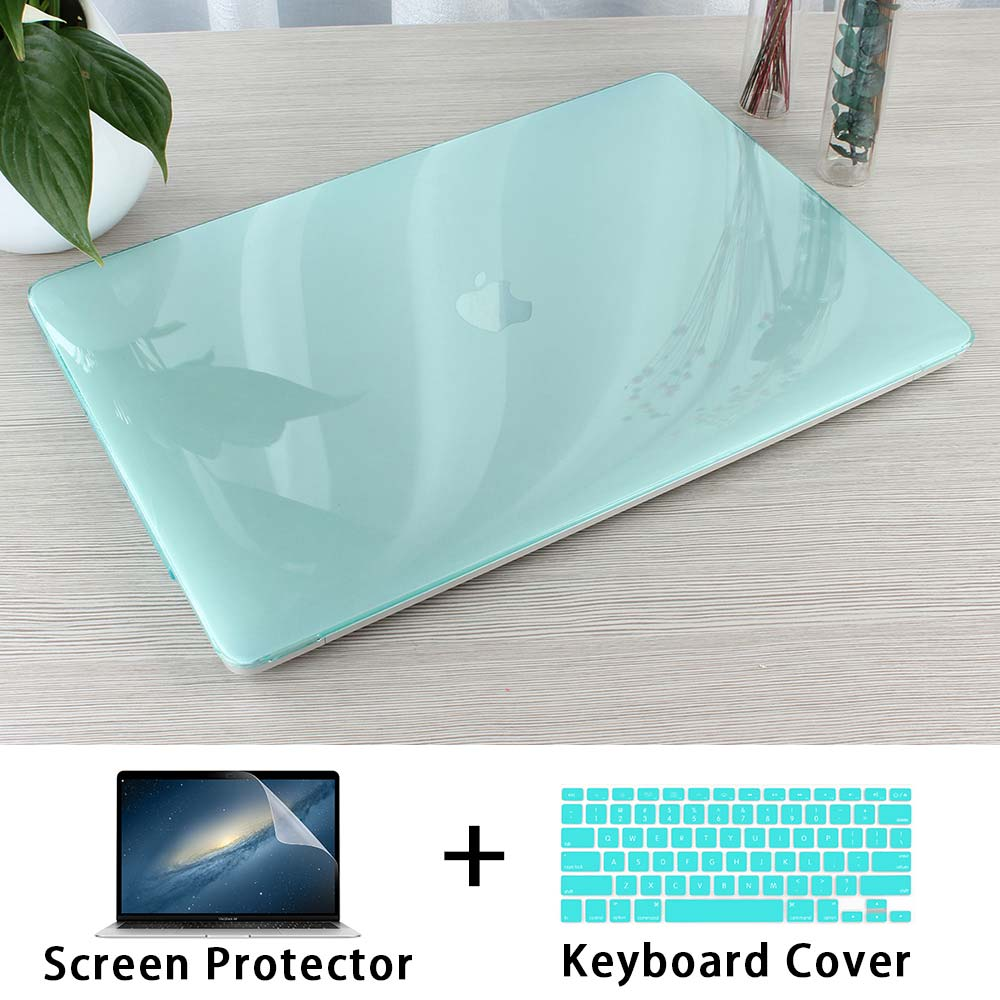 Crystal Transparent Hard Case Protect For Macbook Air Retina Pro 13 15 16 Touch Bar A2141 A2159 A1706 A1990 AIR 13 2019 A1932 title=