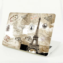 Paris Eiffel Tower Laptop Sticker Full Cover Skin for MacBook Air/Pro/Retina 11″ 12″ 13″ 15″ Protective Computer Notebook Decal