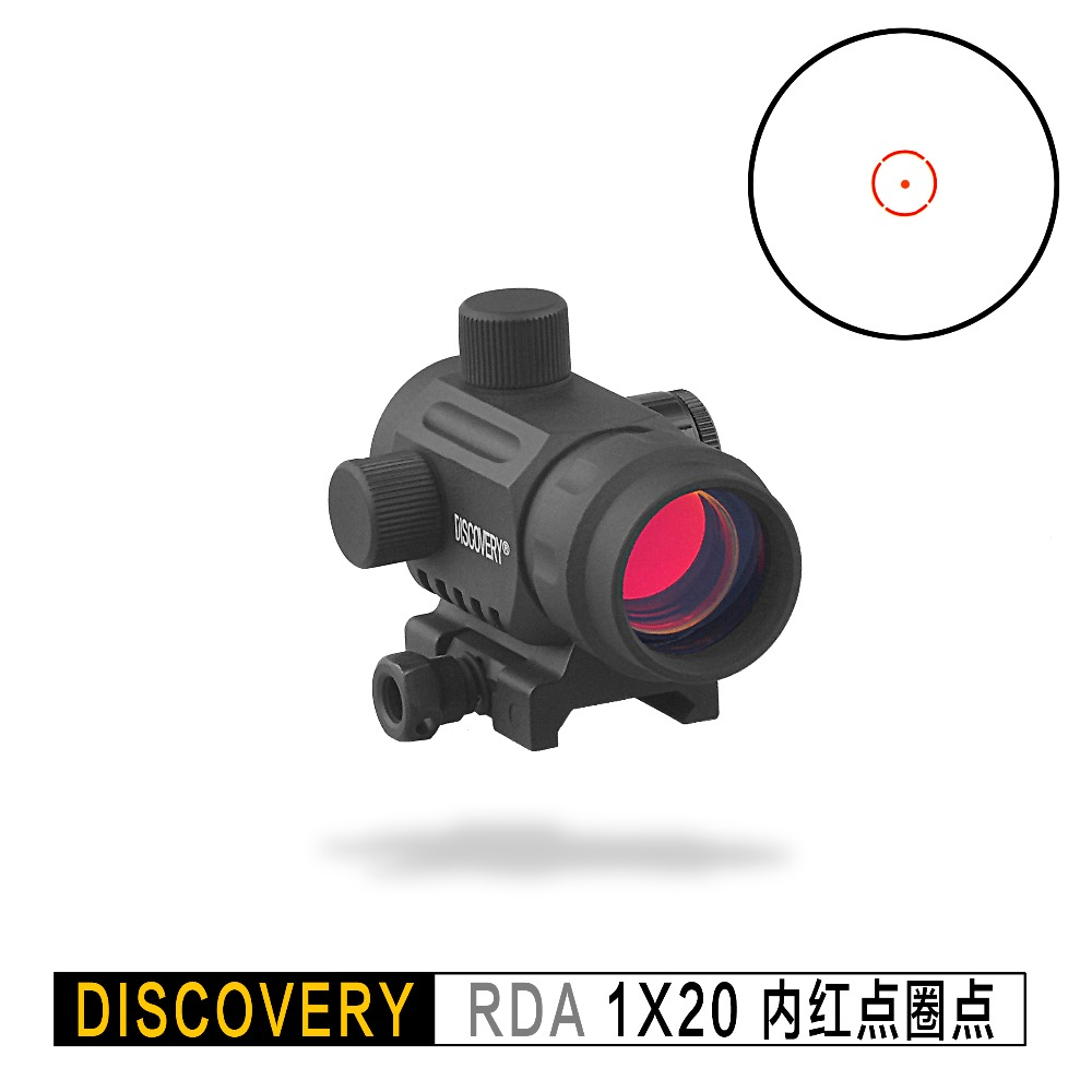 Discovery Red Dot RDA 1X20 Holographic Optical Sight Tactical Airsoft Optics Fit  Picatinny 20mm Rail