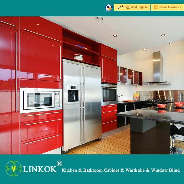 Exceptionnel Linkok Mobili di colore rosso piccolo armadio da cucina moderna  DG83