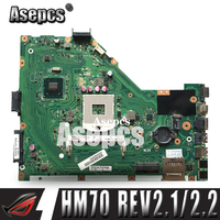 Asepcs X55A Laptop motherboard for ASUS X55A NoteBook Computer Test original motherboard HM70 REV 2.1/2.2