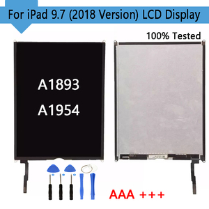 Image 1 - 1PCS נבדק לוח תצוגה עבור iPad iPad 6 6th Gen (2018 גרסה) a1893 A1954 LCD תצוגת מסך Digitizer להחליף משלוח חינם