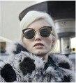 Retro cat eye sunglasses moda óculos de sol redondos mulheres projeto cat eye óculos de sol para as mulheres oculos de sol gafas