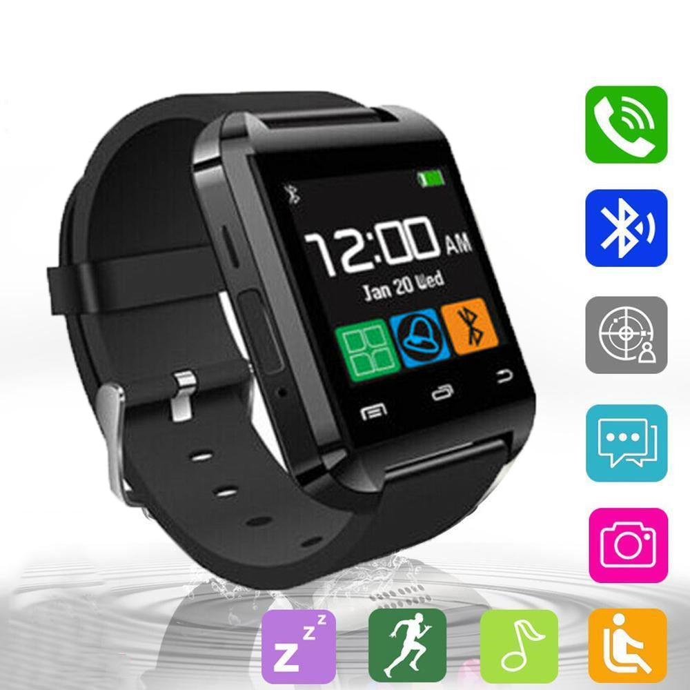 2019 Sport Smart Watch Bluetooth Smart Watch Camera Phone Mate for Android Samsung iPhone LG