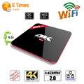 Lo nuevo Amlogic S912 H96 PRO Octa core Android TV Box 2G/16G Android 6.0 WiFi HDMI 2.0 Gigabit LAN 4 K DLNA Android Tv Set Top caja