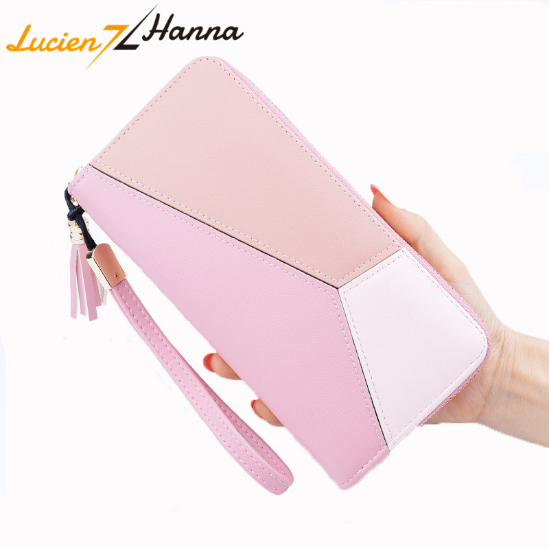 Brand Wallet Coin Purse PU Leather Women Wallet Purse Wallet Female ID Card Cash Holder Long Lady Clutch Purse Carteira Feminina