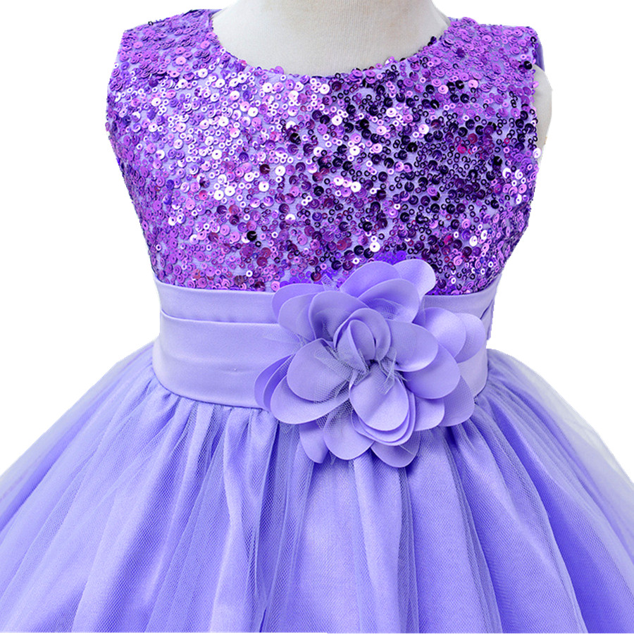 3-14yrs-Hot-Selling-Baby-Girls-Flower-sequins-Dress-High-quality-Party-Princess-Dress-Children-kids-clothes-9colors-5