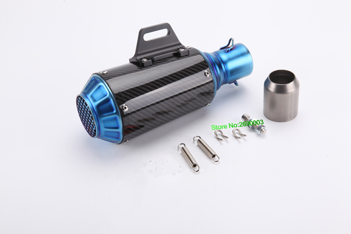 Led light for gift Akrapovic Exhaust Motorcycle/Motorbike Muffler Escape for CB1000R/R1/BJ300/Z250 with Full Accessories