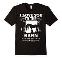 To The Barn And Back Horse Lover Riding Gifts T Shirt Printed Summer Style Tees Male