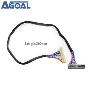 Image 4 - 400mm LVDS 케이블 FIX 30P D8 1ch 8 비트 30 핀 30 핀 단일 8 라인 26 47 인치 대형 스크린 패널 2 모델 무료 배송