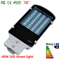 Wholesale 40W LED Street Light Road Lights Outdoor Park Lamps AC85 265V Waterproof IP65 4000LM 4PCS