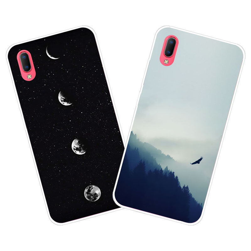 Vivo Y93S Y93 Case,Silicon Space scenery Painting Soft TPU Back Cover for Vivo Y93S Y93 Phone protect cases shell