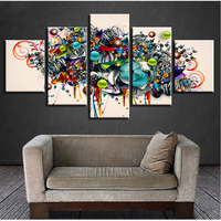 5 pieces decoration painting,5d diy diamond painting Color Insects /Abstract art/Butterflies/Flower Diamond Embroidery