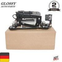 AP03 Air Suspension Compressor Pump With Valve Block For BMW 5 7 Series F01 F02 F04 F07 GT F11 37206784137 37206875176