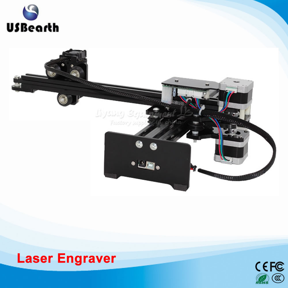 Mini laser CNC engraving machine 2300mw DIY mini router with GRBL control Desktop laser machine eur free tax cnc 6040z frame of engraving and milling machine for diy cnc router