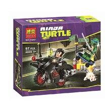 2015 HOT SALE Teenage Mutant Ninja Turtles Minifigure BELA 10261 Building Blocks Sets Figure DIY Bricks Toys For Children