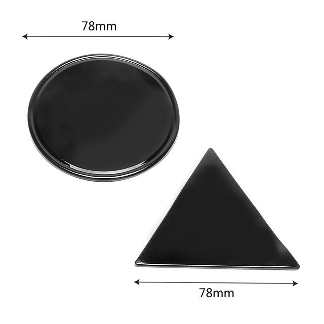 Sticky Gel Pad 2Pc Magical Anti Slip Mat Wall Sticker Anti-slip Mat Car Mobile Phone Holder Tablet Phone Bracket Rround Triangle