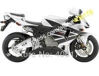 Лидер продаж, для Honda CBR600RR 2005 2006 CBR 600RR 05 06 F5 серебристый, черный мотоцикл тело работа Обтекатель Kit (литья под давлением)
