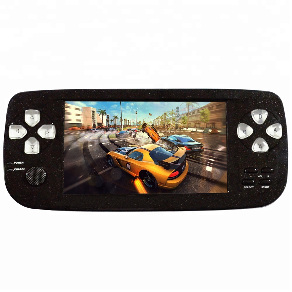 4.3 Inch Game Player PAP K3 16GB 64 Bit Built In 3000 Classic Games Portable Pocket Handheld Gaming System Console AV Output