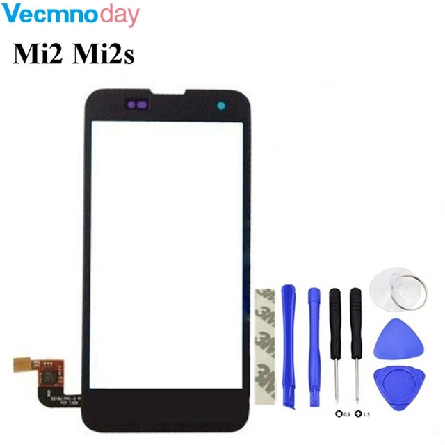 Vecmnoday 4.3'' Touch Screen Digitizer For Xiaomi 2 2S Mi2 Mi2s digitizer touch screen display Free shipping + Order Tracking