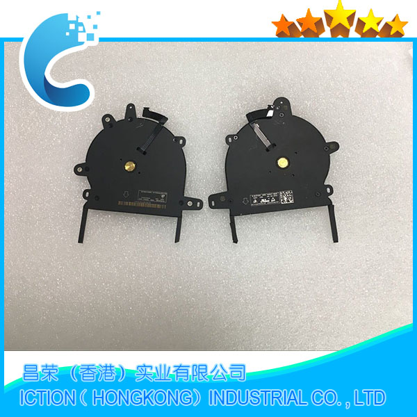 Original New Laptop CPU A1706 Cooling Fan for Macbook Pro 13'' A1706 Right and Left cooling fan 2016 years original ebmpapst 1120ntd tc 220 230v 16w 19w cooling fan