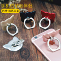 2016 New Luxury Cartoon cat 360 Degree Finger Ring Mobile Phone Smartphone Stand Holder For iPhone iPad all Smart Phone