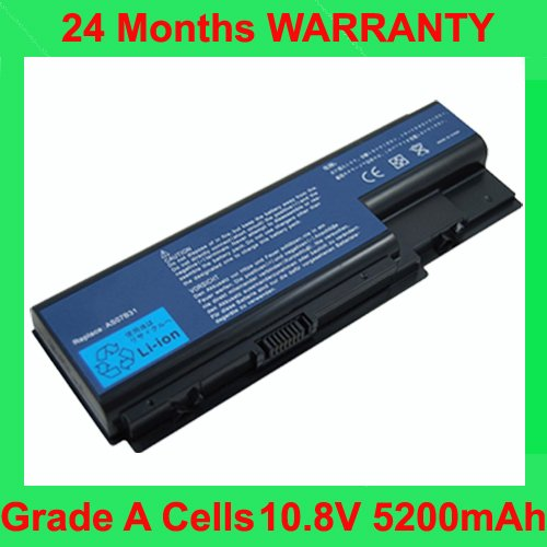 Laptop Battery For Acer Aspire 5220 5230 5520 5710 5720
