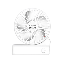 Desktop folding fan can be hand-held and sit three winds low noise double power supply