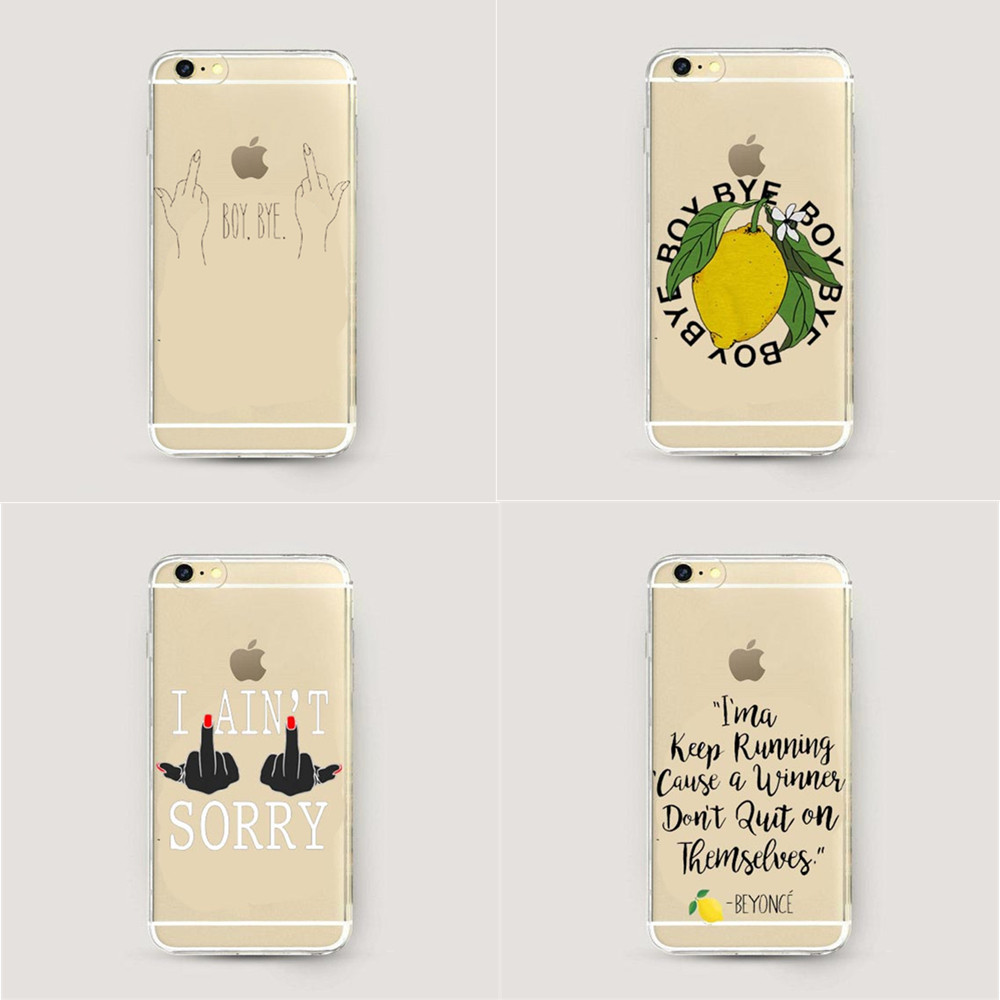 beyonce lemonade boy bye hard plastic phone case coque for. Black Bedroom Furniture Sets. Home Design Ideas
