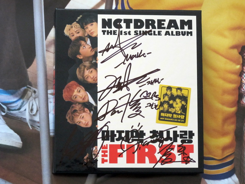 NCT DREAM autographed signed SOLO first album THE FIRST CD