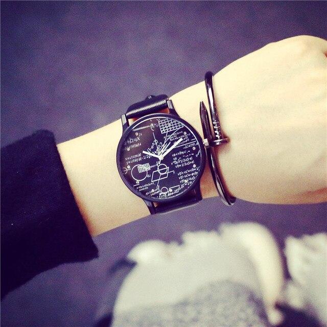 Hot Style Mathematical formula Personalized watches High Quality Luxury Fashion
