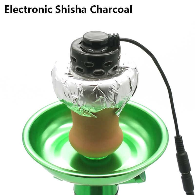 Lomint高温電子セラミック水ギセル炭eヘッドシーシャ水ギセルシーシャchicha narguileアクセサリー中国