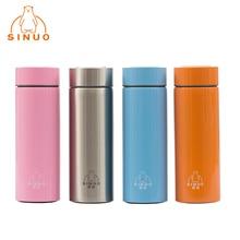 Marke Neue Sinuo 4 Farben Edelstahl Saugnapf 350 ml Thermosbecher Heißer Kaltes Getränk Wasserflasche Thermoskanne NW-350-19