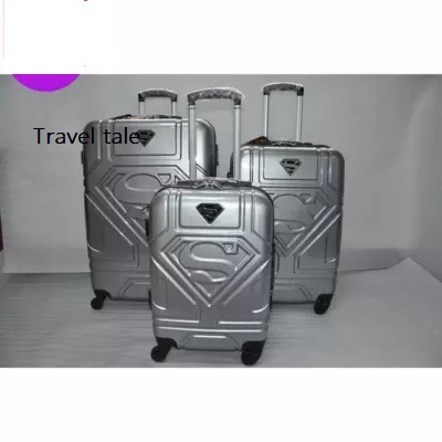 High Quality Travel Tale PC 20/24 Inches Cartoon Superhero Rolling Luggage Spinner Brand  Travel Suitcase