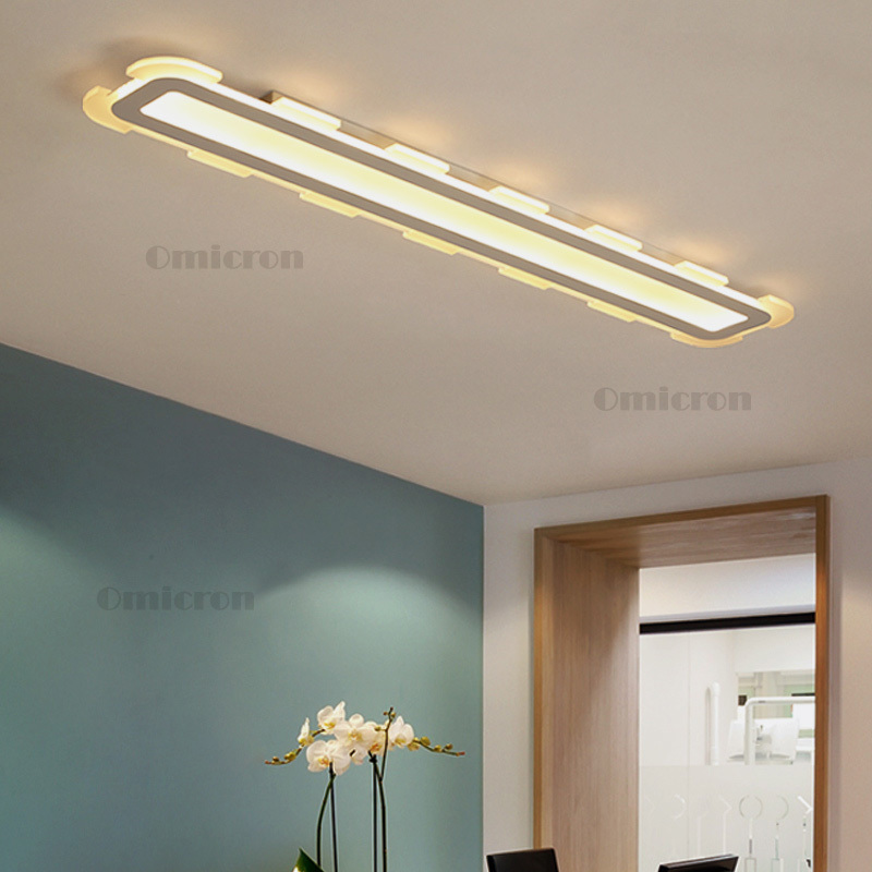 Modern LED livingroom ceiling lamp Acrylic kitchen led ceiling lights creative bed diningroom home lighting fixtures plafondlamp