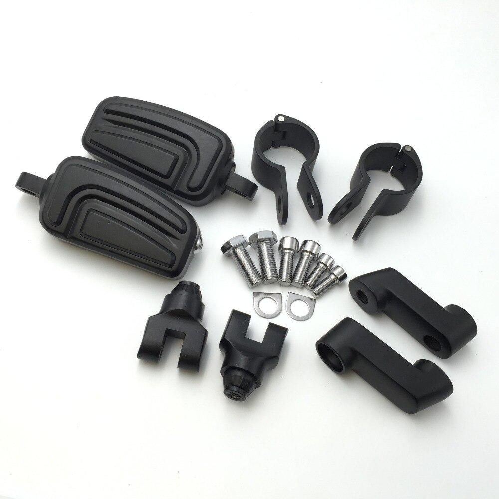 Aftermarket free shipping motor parts For Harley Davidson Softail Dyna Glide Road King Sportster 883 1200 CVO Street Glide BLACK